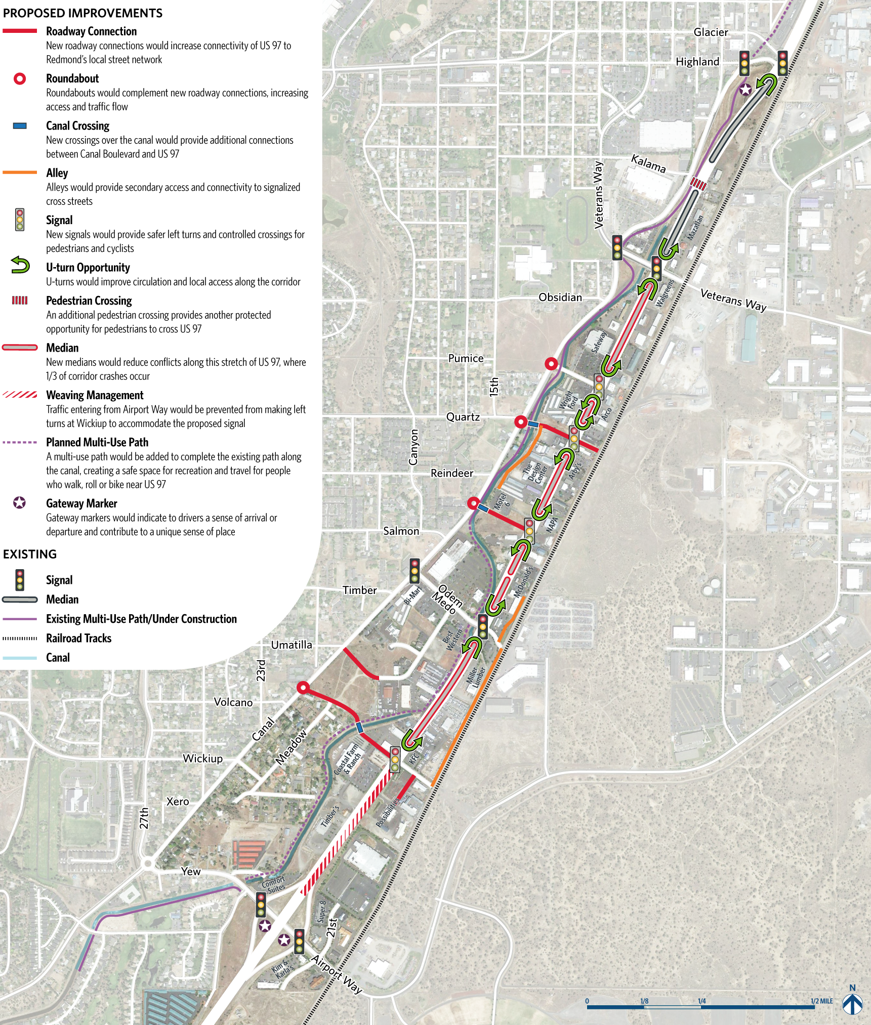 US 97 Proposed Concept